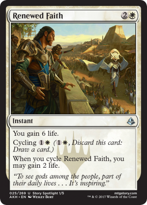 Renewed Faith Instant Amonkhet Mtg Assist