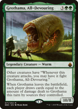 Grothama, All-Devouring rulings - MTG Assist