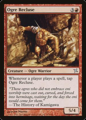 ogre recluse creature ogre warrior betrayers of kamigawa mtg