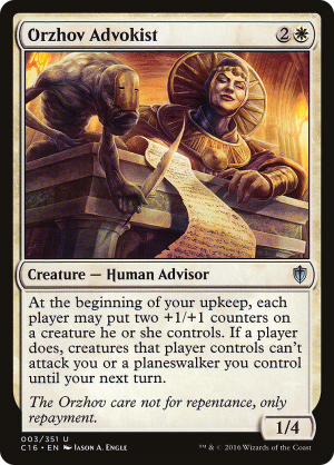 Orzhov Advokist Creature Human Advisor Commander 2016 Mtg Assist Want to discover art related to loxodon? mtg assist