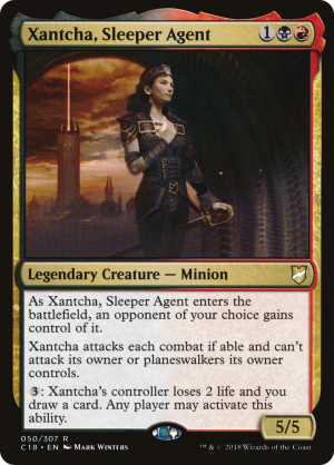 Xantcha, Sleeper Agent • Legendary Creature — Minion (Commander 2018) - MTG  Assist