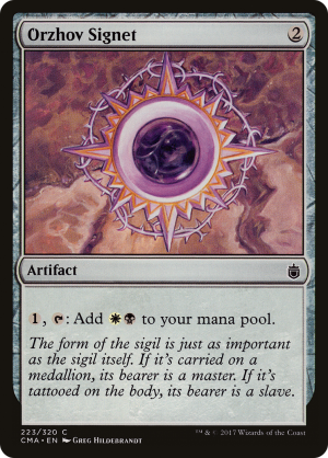Orzhov Signet Rulings Mtg Assist It is one of my favourites guilds of ravnica and this one has been my. orzhov signet rulings mtg assist