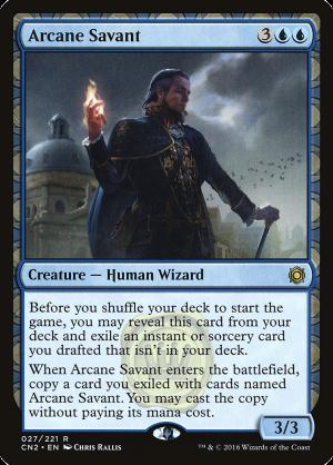 Arcane Savant • Creature — Human Wizard (Conspiracy: Take