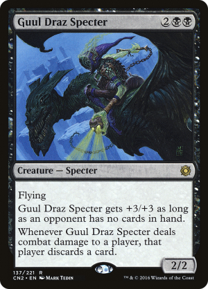 Guul Draz Specter Creature Specter Conspiracy Take The Crown Mtg Assist