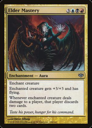 Elder Mastery Enchantment Aura Conflux Mtg Assist