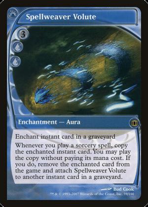 Spellweaver Volute • Enchantment — Aura (Future Sight) - MTG