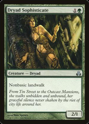 SILHANA LEDGEWALKER Guildpact MTG Green Creature — Elf Rogue Com