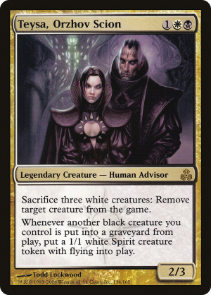 Teysa Orzhov Scion Legendary Creature Human Advisor Guildpact Mtg Assist Add to your mana pool. mtg assist