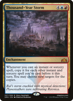 Thousand-Year Storm Near Mint Magic Guilds of Ravnica MTG