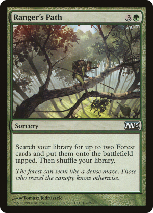 Ranger's Path • Sorcery (Magic 2013) - MTG Assist