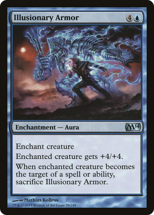 INDESTRUCTIBILITY M14 Magic 2014 MTG White Enchantment—Aura RARE
