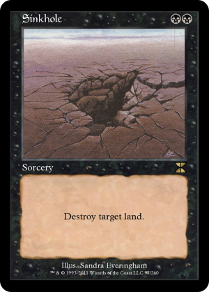 Sinkhole formats and legalities - MTG Assist