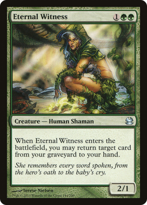 Eternal Witness Various Sets English Magic Multiple Available