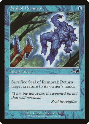x4 MTG 4x Seal of Removal