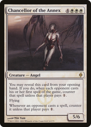 New Phyrexia ~ CHANCELLOR OF THE DROSS rare Magic the Gathering card