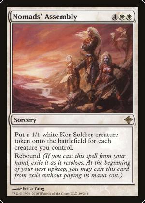 Nomads' Assembly • Sorcery (Rise of the Eldrazi) - MTG Assist