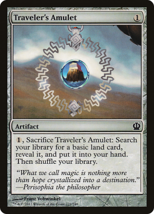 Travelers Amulet Artifact Theros Mtg Assist
