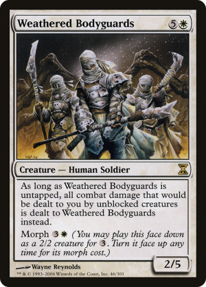 Weathered Bodyguards formats and legalities - MTG Assist